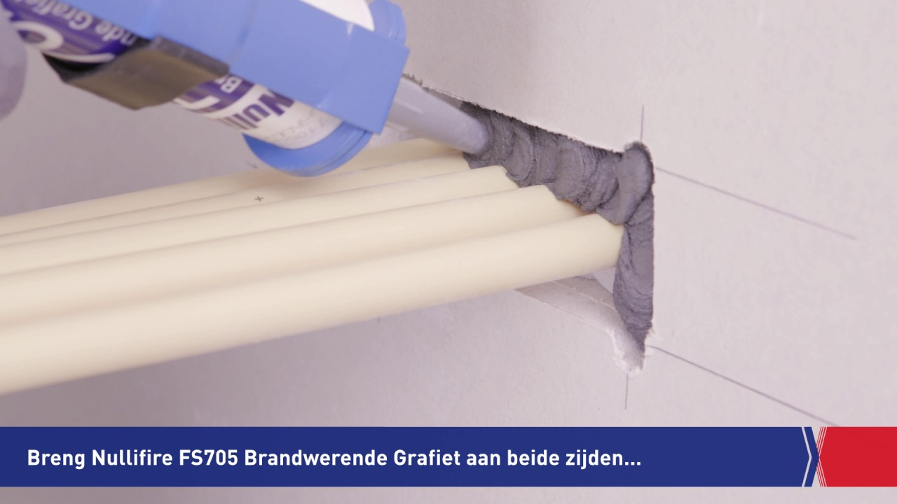 instructievideo Nullifire FS705 Brandwerende Grafiet