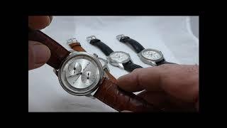 5 Armbanduhren mit Regulator- Anzeige