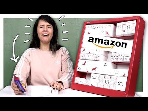 Ich teste den Amazon 25€ Surprise Adventskalender!