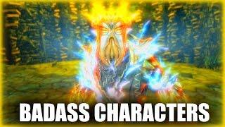 Skyrim - 4 Badass Characters