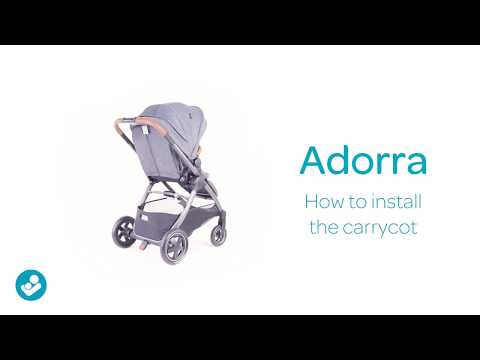 Maxi-Cosi | Adorra stroller | How to install your carrycot