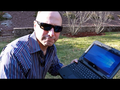Extreme Laptop Abuse! Dell Latitude 12 Rugged Convertible Laptop Preview