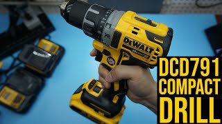 DeWALT DCD791 Compact Drill Review: Charging, Drilling Test (Do Not Buy Atomic DCD708)