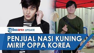 Viral Video Penjual Nasi Kuning Mirip Oppa Korea, Disebut Mirip Lee Min Ho Hingga Andi Lau
