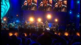 """Youssou N'Dour and Annie Lenox """"7 seconds""""  live 46664 THE EVENT"""