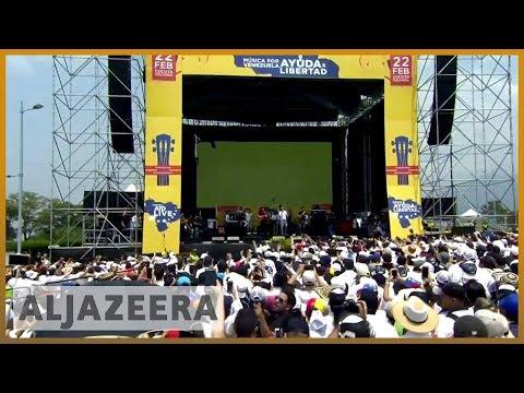 🇻🇪 🇨🇴 Rival concerts held as Venezuela power struggle intensifies l Al Jazeera English