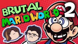 Brutal Mario World: Skill Capped - PART 2 - Grumpcade (Ft. Markiplier)
