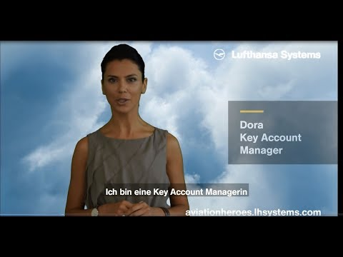 Eingebettetes Video for Dora, Key Account Managerin