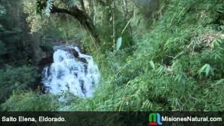 preview picture of video 'Salto Elena, Eldorado. Misiones Natural'