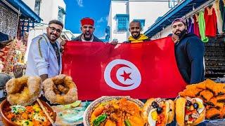 اكل الشوارع في تونس الخضراء 🇹🇳 Street Food In Tunisia
