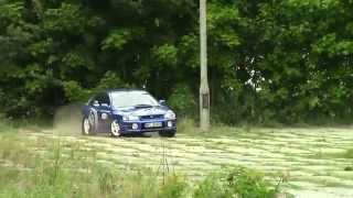 preview picture of video 'XVIII Rally Mińsk Mazowiecki 2014, Załoga nr 10'