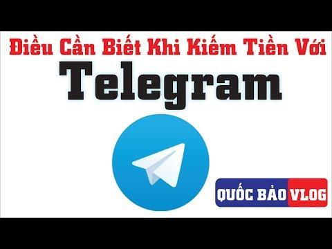 Những Điều Cần Biết Khi Kiếm Tiền Với Telegram   Kiếm Tiền Online