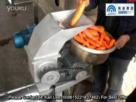 Coomercial Fresh Carrot Vegetable Juice Machine