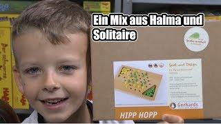 Hipp Hopp (Gerhards Spiel und Design) - ab 8 Jahre - ein Mix aus Halma und Solitaire