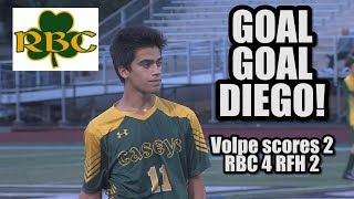 Red Bank Catholic 4 Rumson Fair Haven 2 | Diego Volpe 2 goals 1 assist
