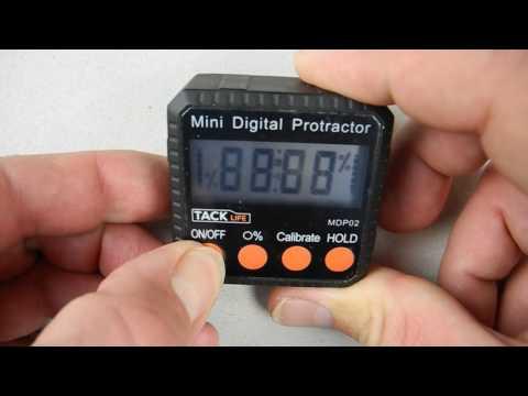 Tacklife MDP02 digitaler Winkelmesser Neigungsmesser Wasserwaage