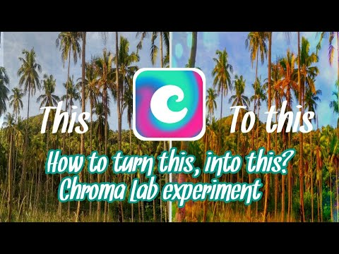 How to make photos cool and alive? Chroma Lab experiment