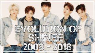 Evolution of SHINee (샤이니) | A 10th Anniversary Tribute