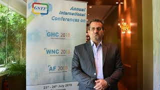 Assoc. Prof Hossein Fakhari at AF Conference 2018 by GSTF Singapore