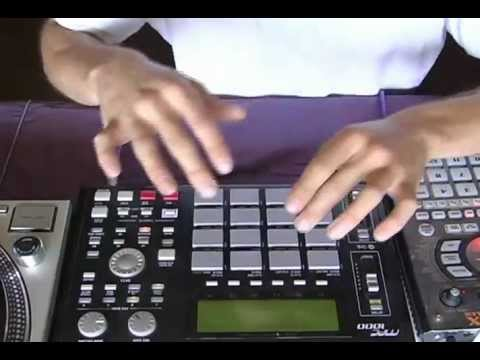 The Funky Worm on MPC1000