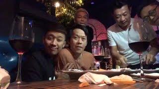 Hoài Linh, Trấn Thành, Anh Đức đại náo steak house của Vân Sơn