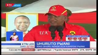 Rais Uhuru Kenyatta apokea wananasa katika ziara za kampeini kaunti za Pwani