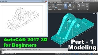 AutoCAD 2017 3D Tutorial for Beginners