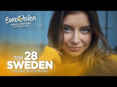 🇸🇪: Eurovision 2020 - Melodifestivalen 2020 - Top 28