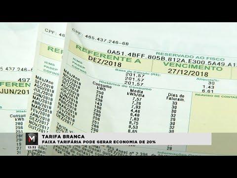 Tarifa branca gera 20% de economia