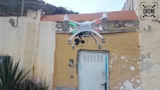 Walkera Qr x350 Pro Reparado y Volando de nuevo