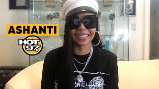 Ashanti Shares The REAL Story On Keyshia Cole Tamia Verzuz Writing For JLO COVID-19 + New Music!