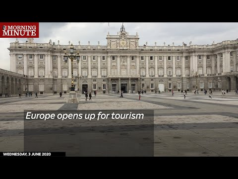 Europe opens up for tourism