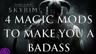Mod Spotlight: Skyrim SE (Episode 9)- 596 New Spells & Become a Grey Beard