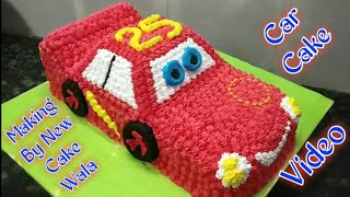 How To Make Car Cake Best Car Decorations Making By New Cake Wala