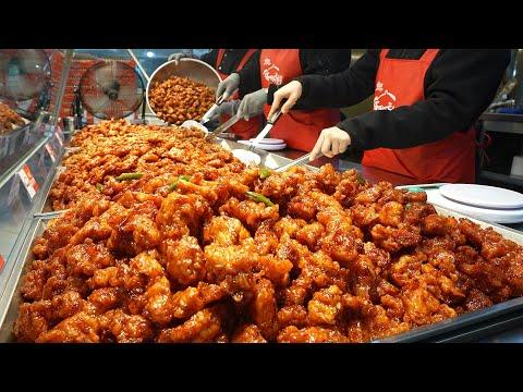 Yum: Crunchy Korean Fried Chicken (Spicy Sweet and Sour Chicken) – Korean Street food