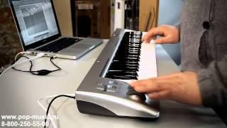 Доступная миди клавиатура M Audio Keystation 49es Mk II