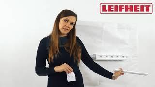 Настінна сушарка для білизни Leifheit Rollquick 210 (83006) від компанії Інтернет-магазин EconomPokupka - відео 2
