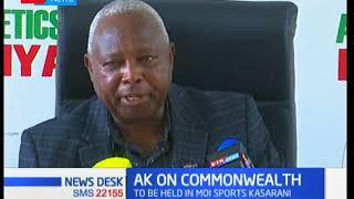 Athletics Kenya President Jackson Tuwei speaks on commonwealth games