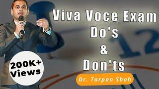 Viva Voce Exam Do's & Don'ts