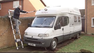 how to clean your motorhome