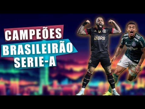 Campees do Campeonato Brasileiro | Brasileiro Serie A Todos os Campees