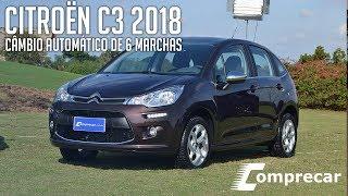 Citroën C3 2018 com câmbio automático de 6 marchas