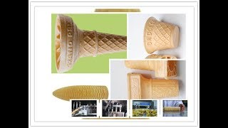 full automatic wafer ice cream cone production line China supplier free factory design solution