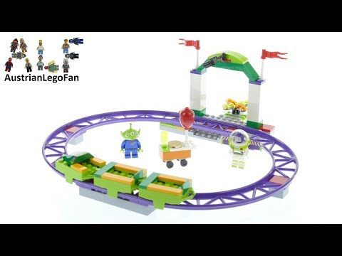 Vidéo LEGO Toy Story 10771 : Le manège palpitant du Carnaval