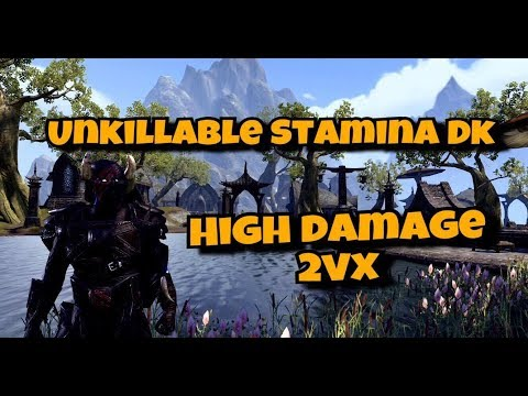 Zenimax, please have a look at this nearly unkillable stamina block ...