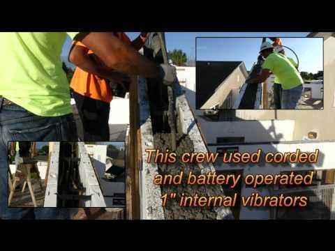 Fox Blocks - Placing Concrete in a 5/12 Gable