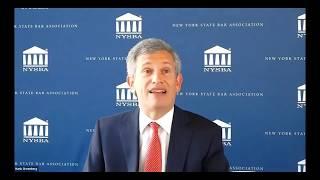 NYSBA House Of Delegates April 2020-Report Of President, Hank Greenberg