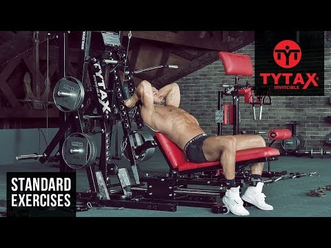 TYTAX® M1 | Cable Incline Triceps Extension