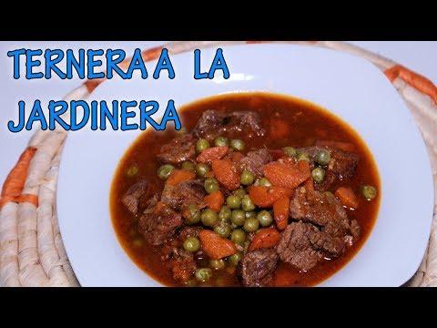 TERNERA A LA JARDINERA EN OLLA EXPRESS/Maryla y sus recetas