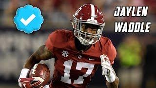 Jaylen Waddle Freshman Highlights 🔥 Alabama Crimson Tide Wide Receiver